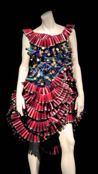 Bullet Dress By Geneviève Dumas and Geneviève Flageol