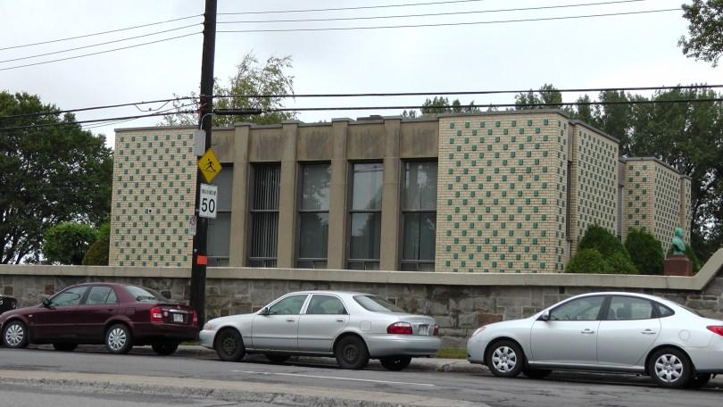 The Baron de Hirsch Cemetery Office Building