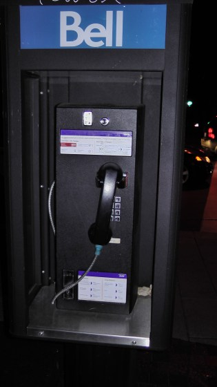 A Northern Telecom Centurion Pay Phone