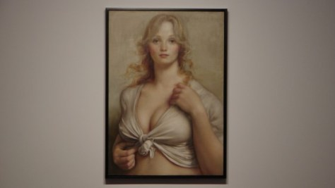 Big Hands by John Currin