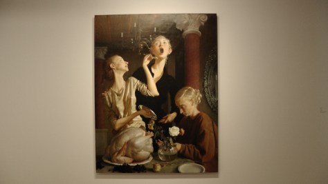 Thanksgiving by John Currin