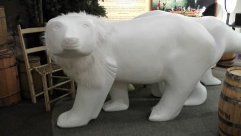 A bear.