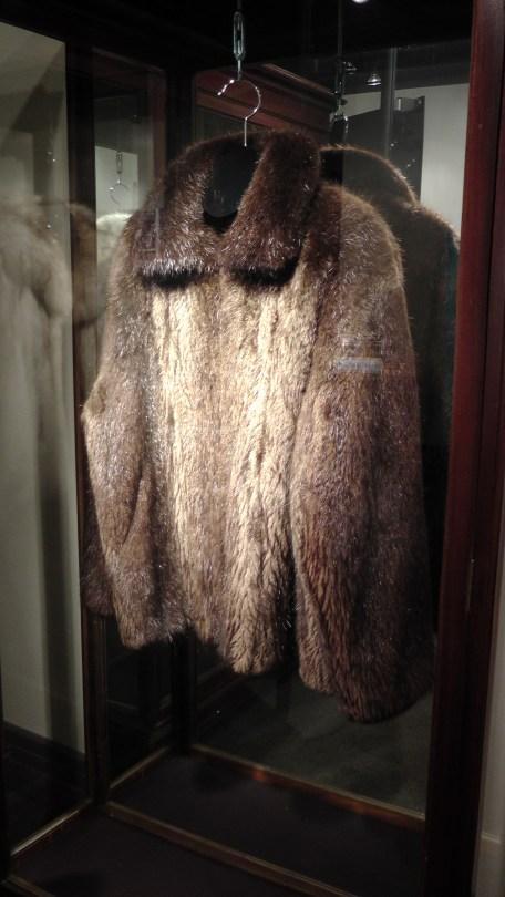 A beaver coat.