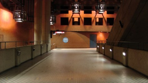View of the mezzanine.