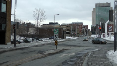 The section of Clark that is two way.