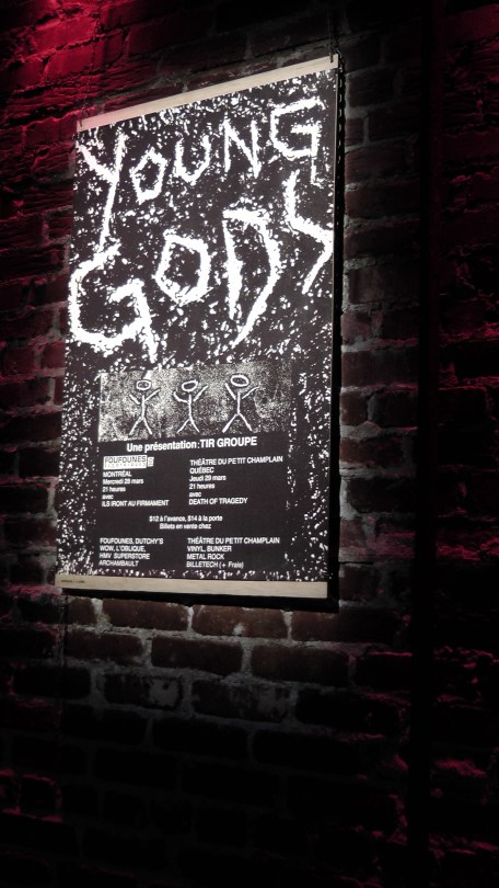 Young Gods poster (circa late 90s)