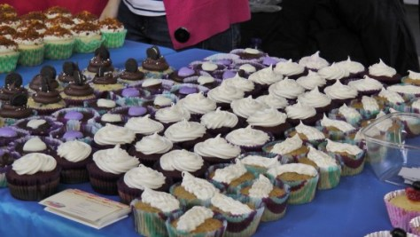 Cupcakes at Cupcake Camp (Training Camp) 2012