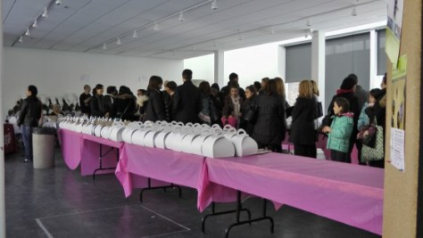 The line up for Cupcake Camp (Training Camp) 2012