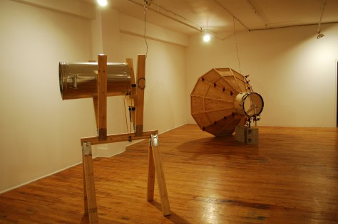 Installation view of Instrumentation by Peter Flemming at Skol