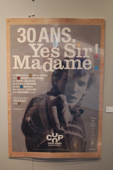 Poster for 30 Ans. Yes Sir! Madame by Yvan Adam