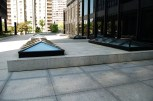 The skylights on the Westmount Square Plaza