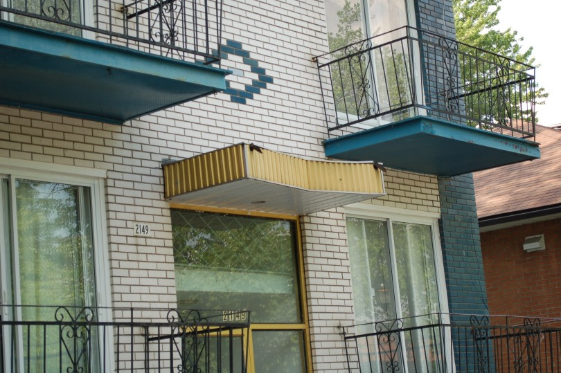 A Pentagonal Awning in Parc Ex