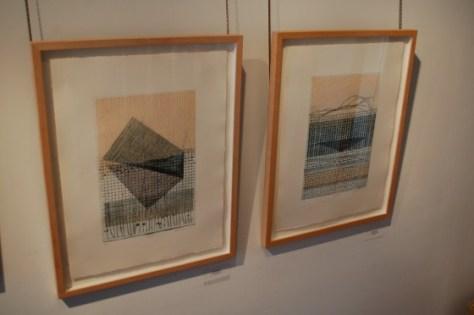Installation view of Judith Klugerman's work in Présence at Wilder & Davis