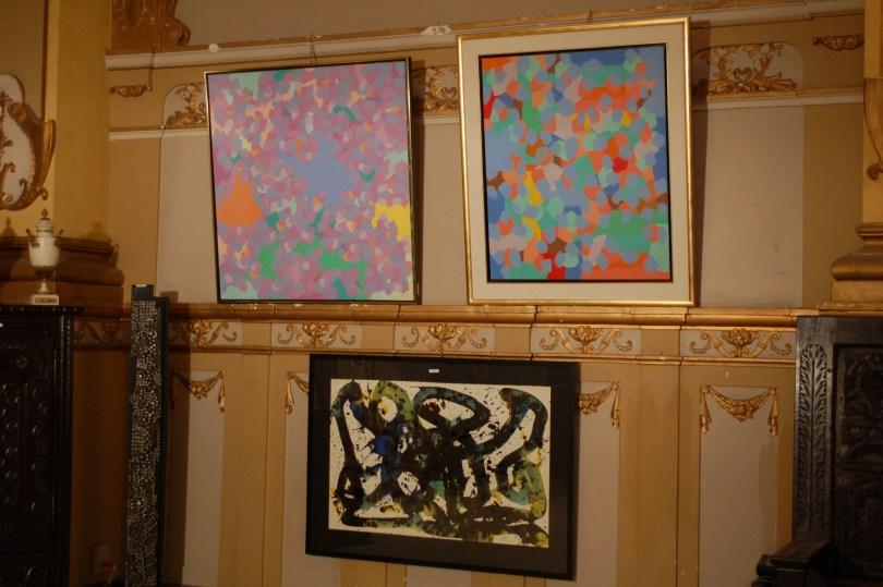 The Marcel Barbeau paintings at Iegor - Hôtel des Encans June 19, 2012. Neither one sold.