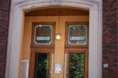Manoir Lambert on Lambert Closse