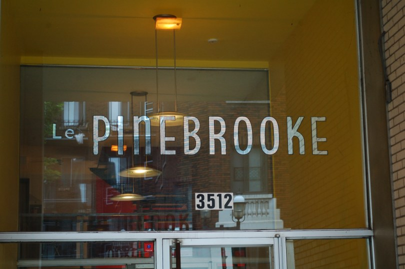 The Pinebrook in the McGill Ghetto