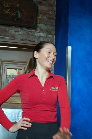 Yana our amazing server at Eggspectations