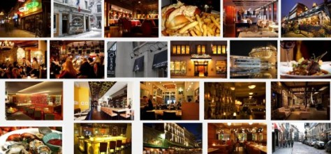 Montreal Restaurant Collage