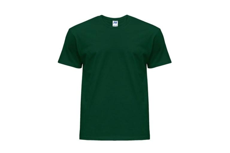 Koszulka męska z krótkim rękawem T-shiirt Bottle Green JHK