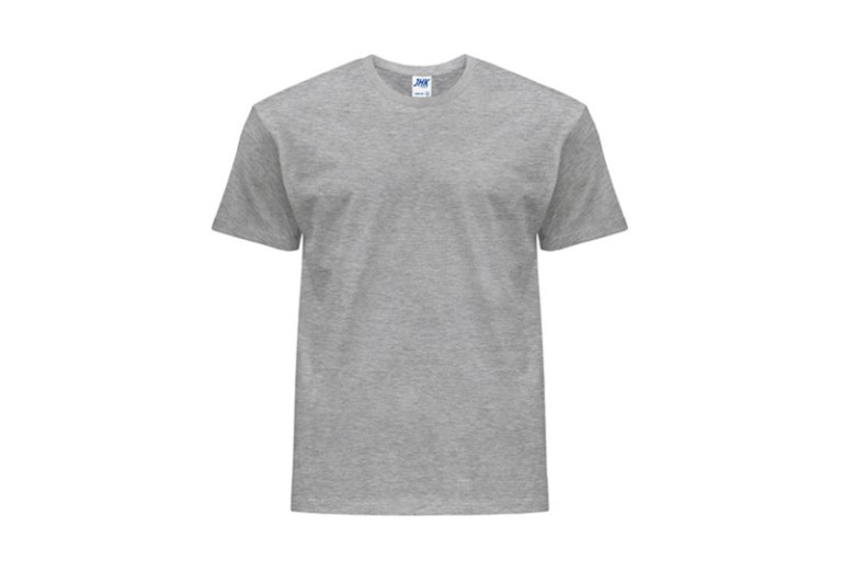Koszulka męska z krótkim rękawem T-shirt Grey Melange JHK