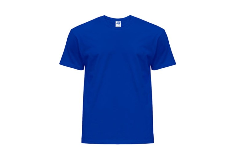 Koszulka męska z krótkim rekawem Royal Blue T-Shirt JHK