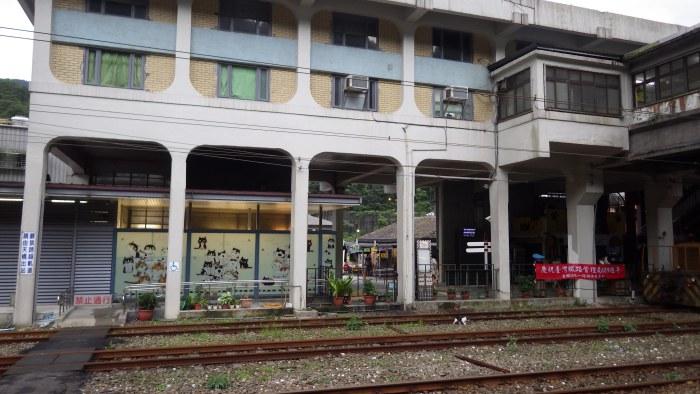 ホウトン駅舎
