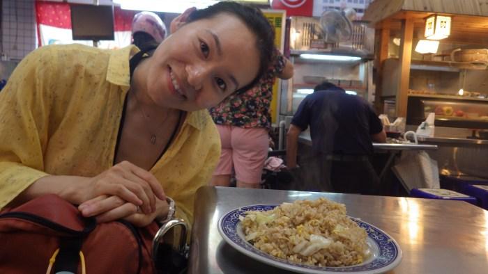 美食街のチャーハン