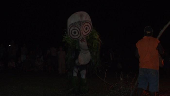 バイニン族のマスク