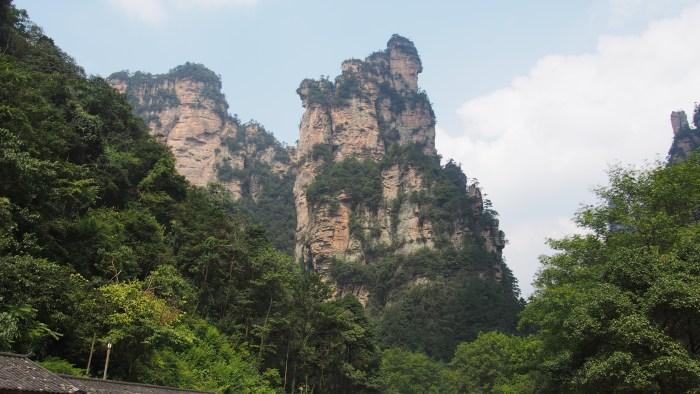 武陵源の景観