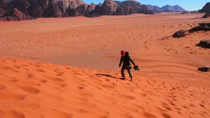 大きな砂山