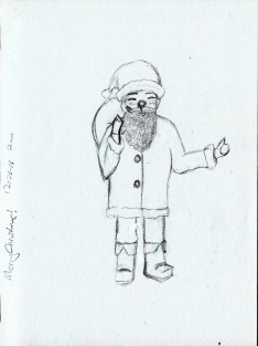 Santa Claus Christmas Sketch