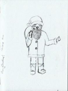Santa Claus Christmas Sketch