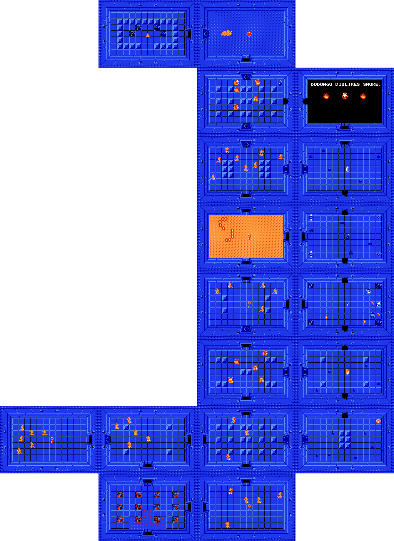 Zelda Level 9 Map : zelda, level, Legend, Zelda, Walkthrough, Level, Dungeon