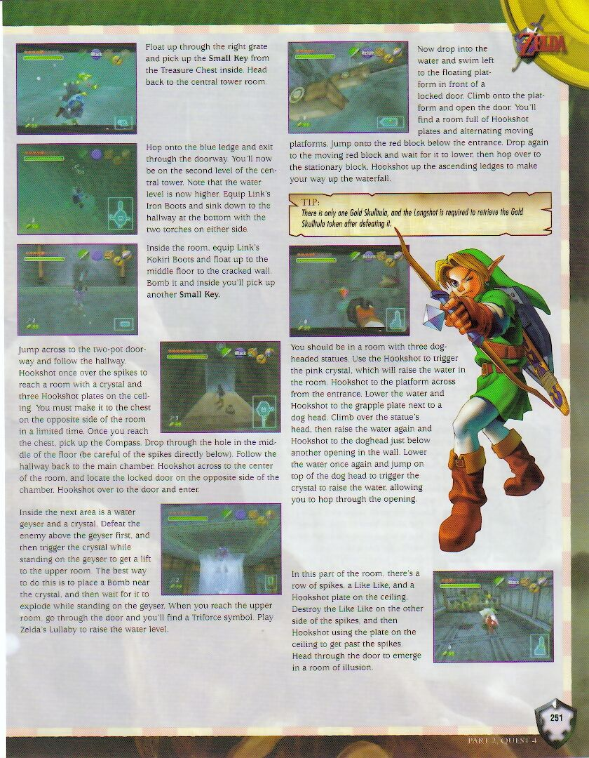 Zelda Second Quest Level 4 : zelda, second, quest, level, Guide:, BradyGames, Zelda, Dungeon, Gallery