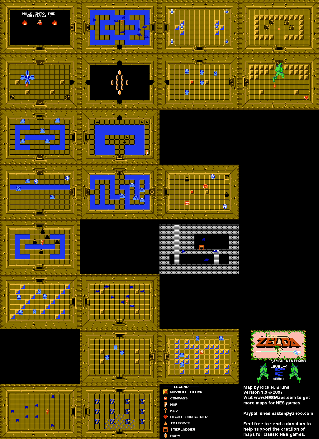 Legend Of Zelda Secrets Map : legend, zelda, secrets, Legend, Zelda, Galaxy.com