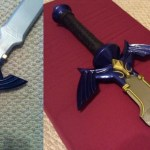 Explore the creative process of forging Link's Master Sword