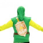 Dress up like the Legendary Hero all the time with this stylish Zelda hoodie
