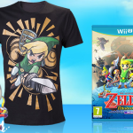 Get a free Wind Waker shirt with a purchase of game/bundle at the Nintendo UK Store
