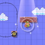 Link is a playable character in Super Mario Maker