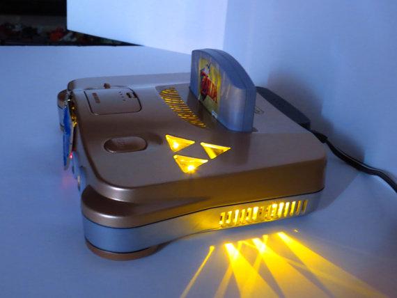 This sophisticated custom Nintendo 64 mod lights up Zeldastyle  Zelda Universe