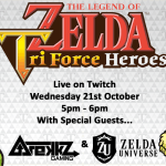 Come join me on Nintendo's Twitch stream for some Tri Force Heroes