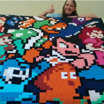 Our own Humulos shares his wife's amazing NES quilt