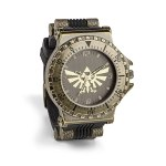Keep track of time with this beautiful Zelda watch from ThinkGeek