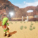 Ocarina of Time's Gerudo Valley gets the Unreal Engine 4 treatment