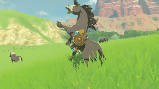 Breath of The Wild: Horse Wrangling