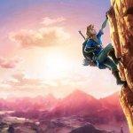 New Zelda Wii U artwork hints at rock-climbing
