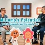 Yoshio Sakamoto and Shigesato Itoi discuss origin of Miitomo