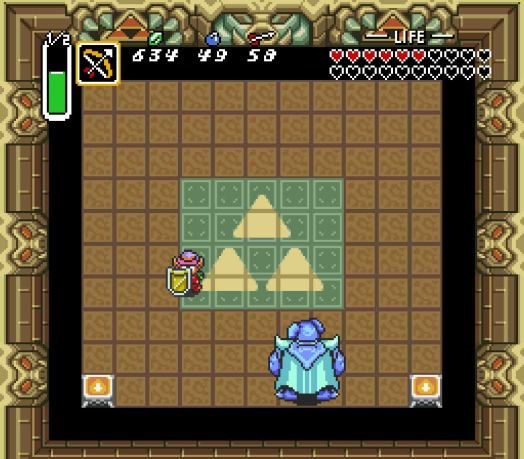 Step Four Once he finishes teleporting, hit him with your sword. If you do it fast enough, he won't be able to use his Blazing Bat to attack. When you hit him, he'll turn solid blue.