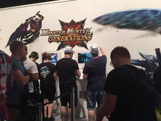 Gamescom MonsterHunter Generations