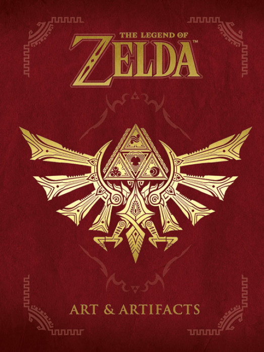 zelda arts and artifacts cover